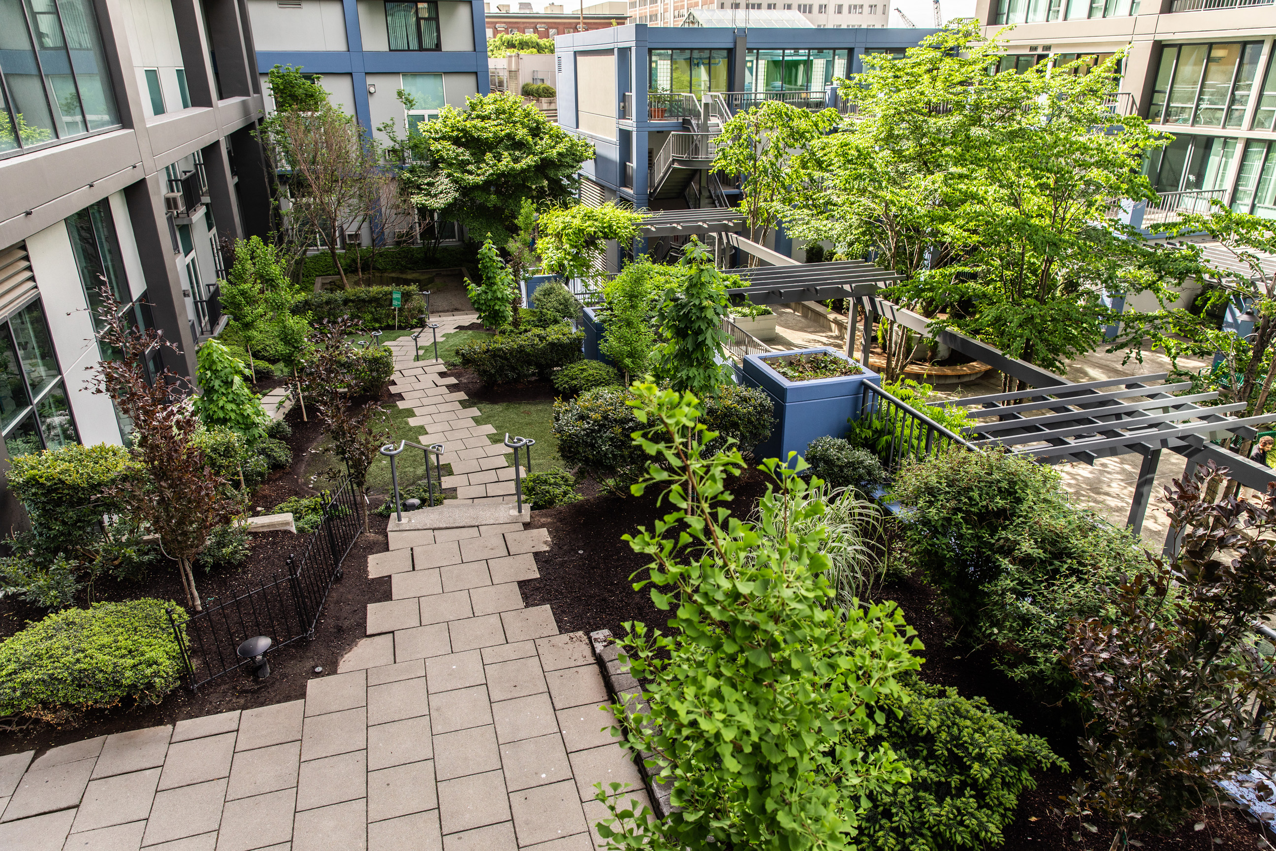 harbor-steps-apartment-domicile-garden